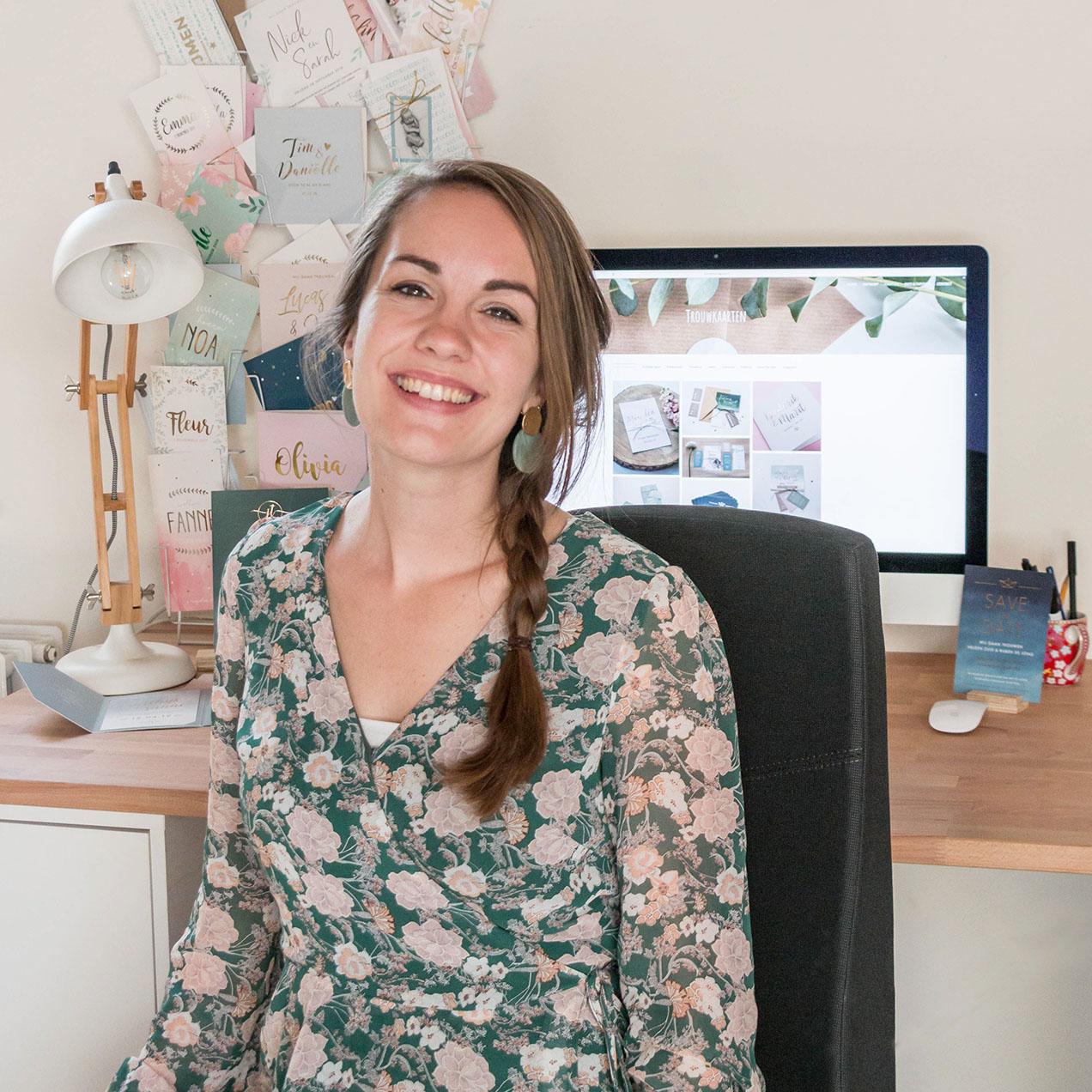 Marjolein Vormgeving trouwkaart ontwerp geboortekaartje op maat grafisch ontwerper