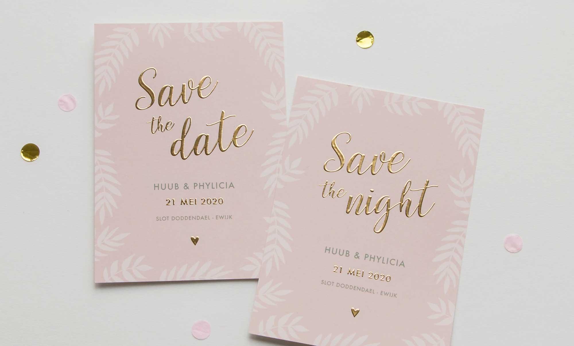 Tips voor het versturen van Save the Date kaarten